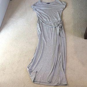 Sanctuary Tie waist maxi dress